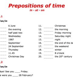 443 FREE Preposition Worksheets: Teach Prepositions With Style! [ 874 x 1128 Pixel ]