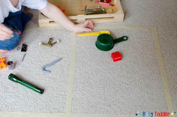 Magnet Sort Stem Activity - Busy Toddler