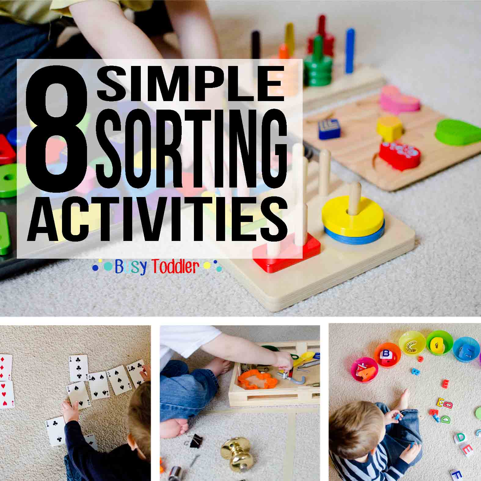8 Simple Sorting Activities For Toddlers