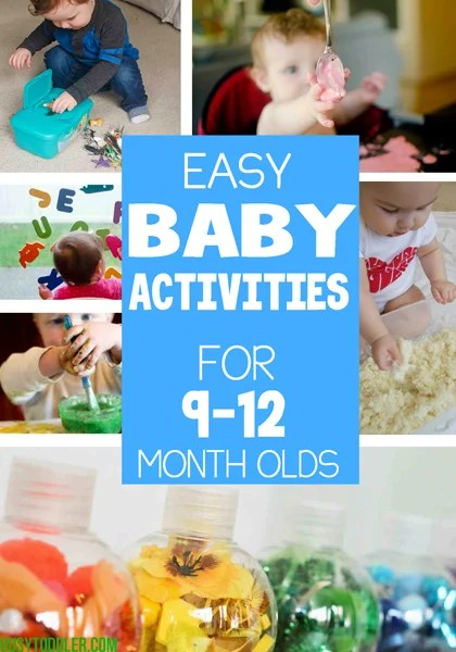 40 Baby Activities Fun Easy Play Ideas Busy Toddler