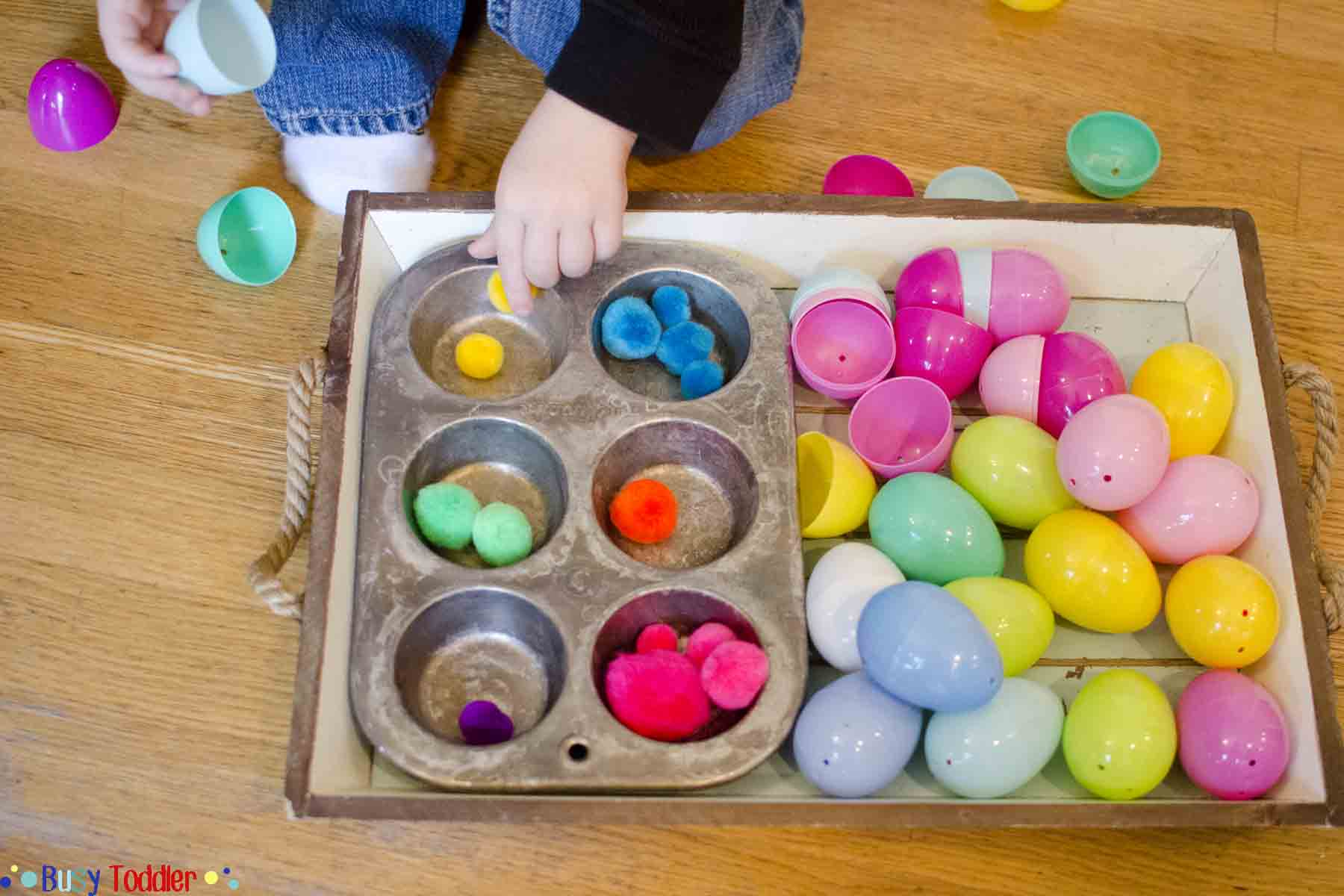 Easter Egg Color Sorting