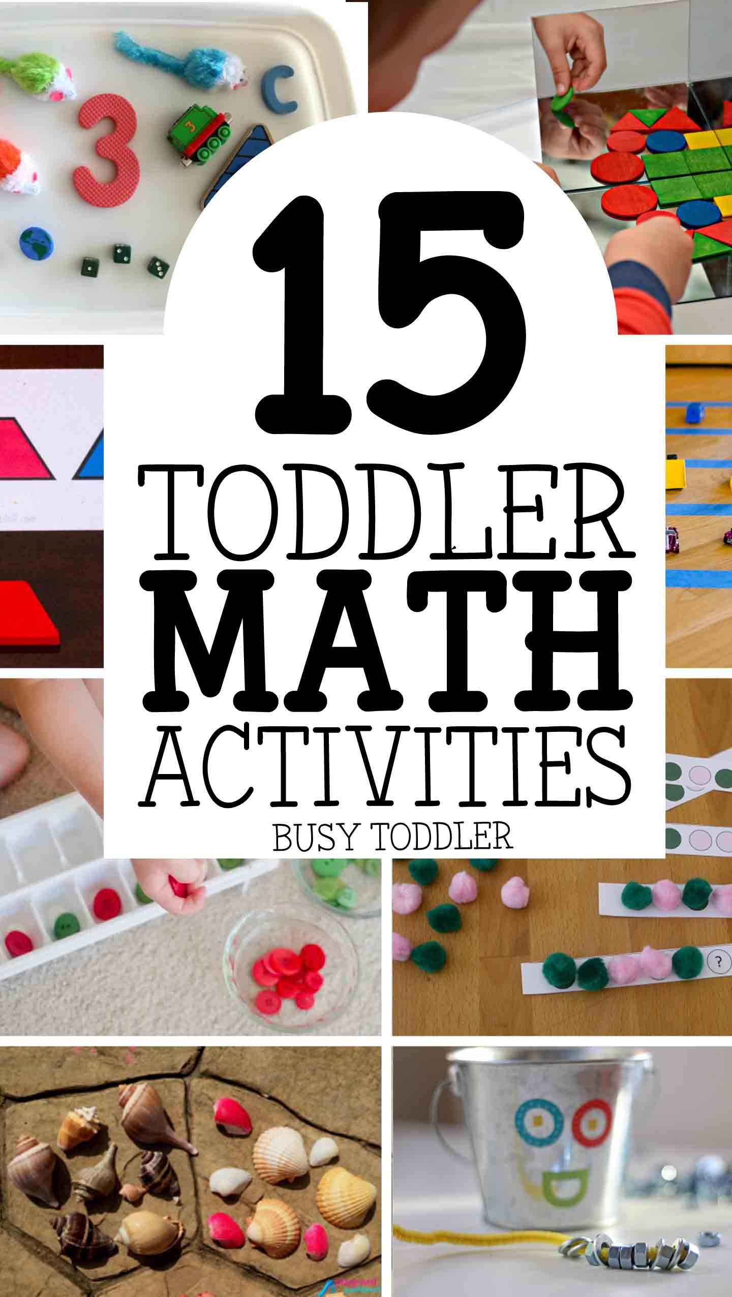 15 Toddler Math Activities