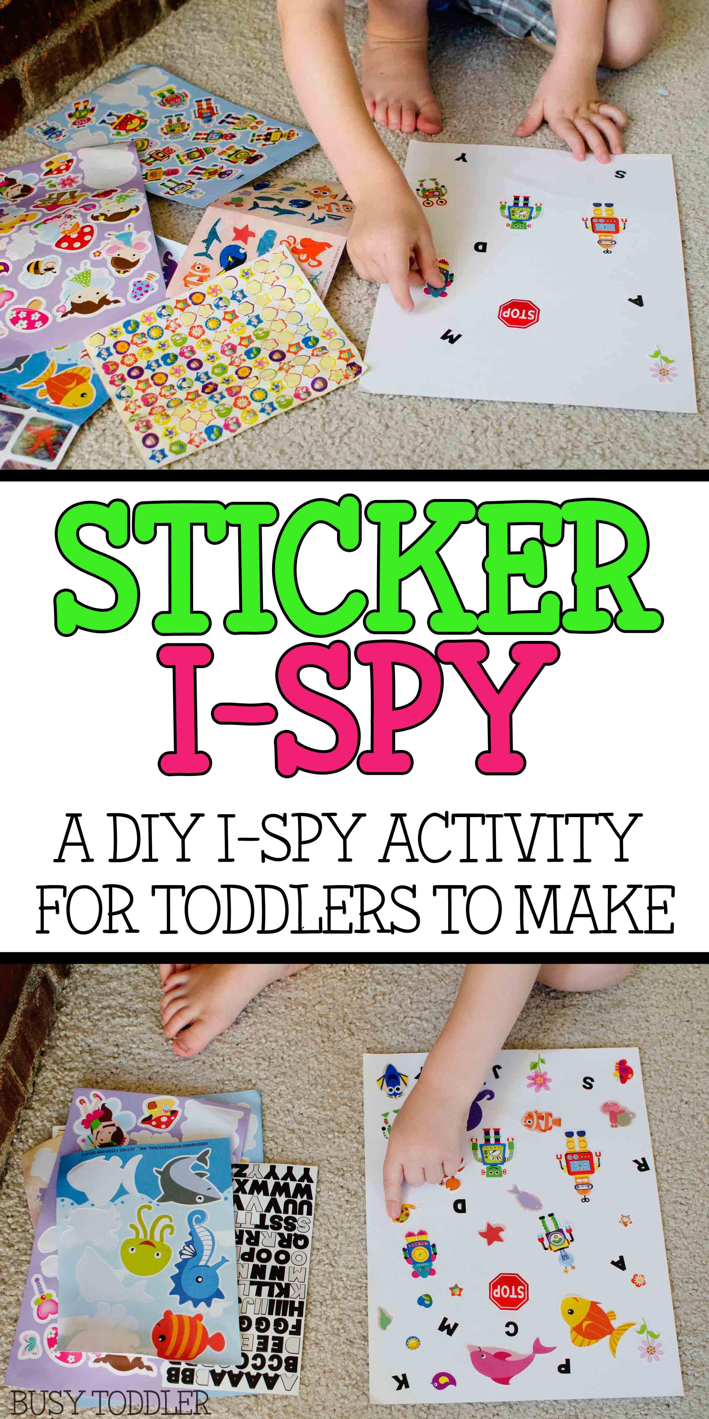 Sticker I Spy