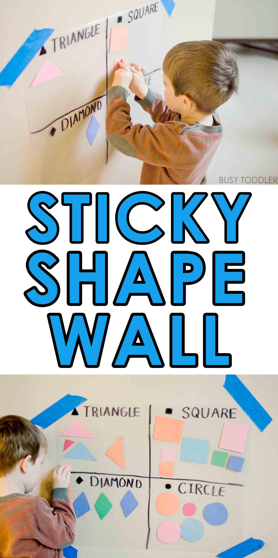 Sticky Shape Wall