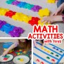 Fun Math Activities With Toys Busy Toddler