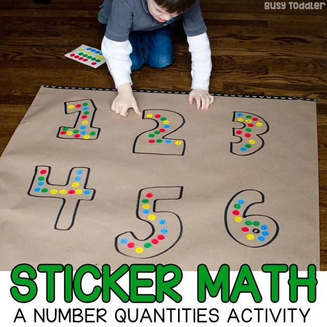 dot sticker math a