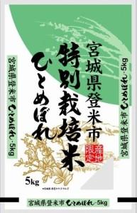 宮城県登米市産 特別栽培米 ひとめぼれ