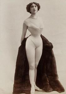 100年くらい前のヨーロッパ人女性