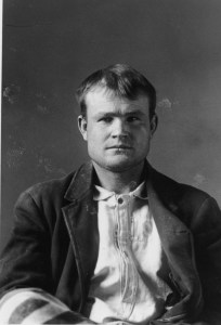 Early photo of a young Butch Cassidy