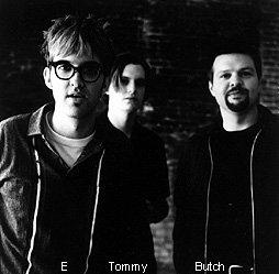 E, Tommy, Butch - Eels photo shoot