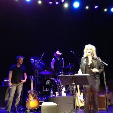 Bless the beasts and the children... Lucinda Williams show with Butch and David Sutton
