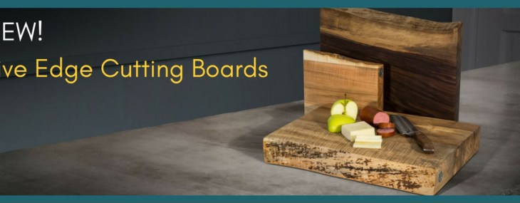 Butcher Block Co. Adds Live-Edge Wood Cutting Boards in Time for Holidays