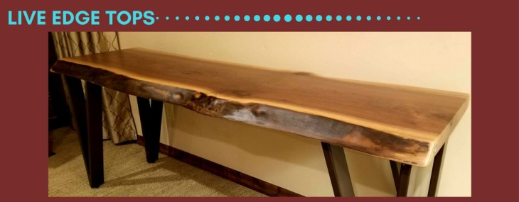 Live Edge Table Project Featuring Wood Slabs from Created Hardwood Ltd.