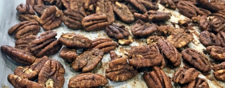 Crunchy Snack Recipe – Maple Cinnamon Glazed Pecans