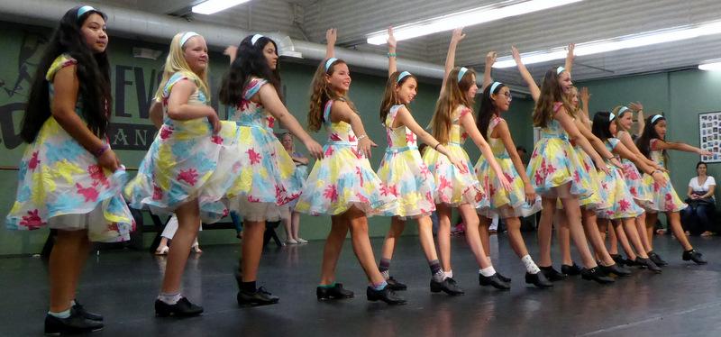 Dance students at Montrose's Revolution Dance Studio
