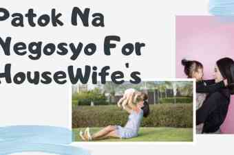 Negosyo Tips For Housewife