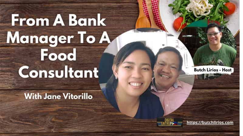 From A Bank Manager To A Food Consultant With Jane Vitorillo