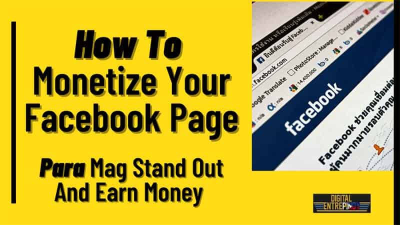 How To Earn Money Using Your Facebook Page?