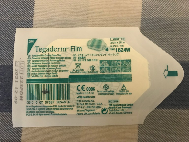 Use Tegaderm Film in place of the Medtronic Oval Tape for the Guardian 3 or Enlite CGM Systems