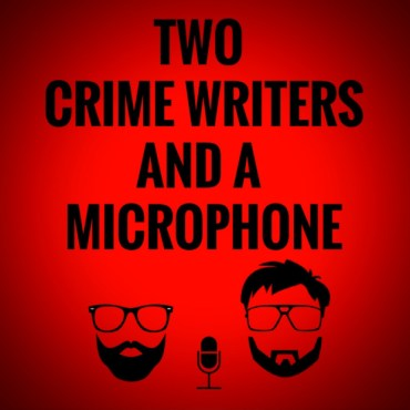 two crime writers' podcast image