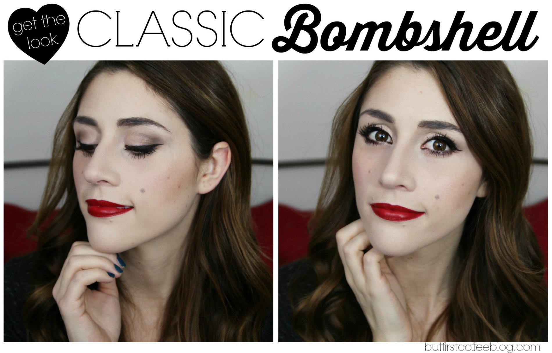 Classic Valentine's Day - Bombshell Makeup