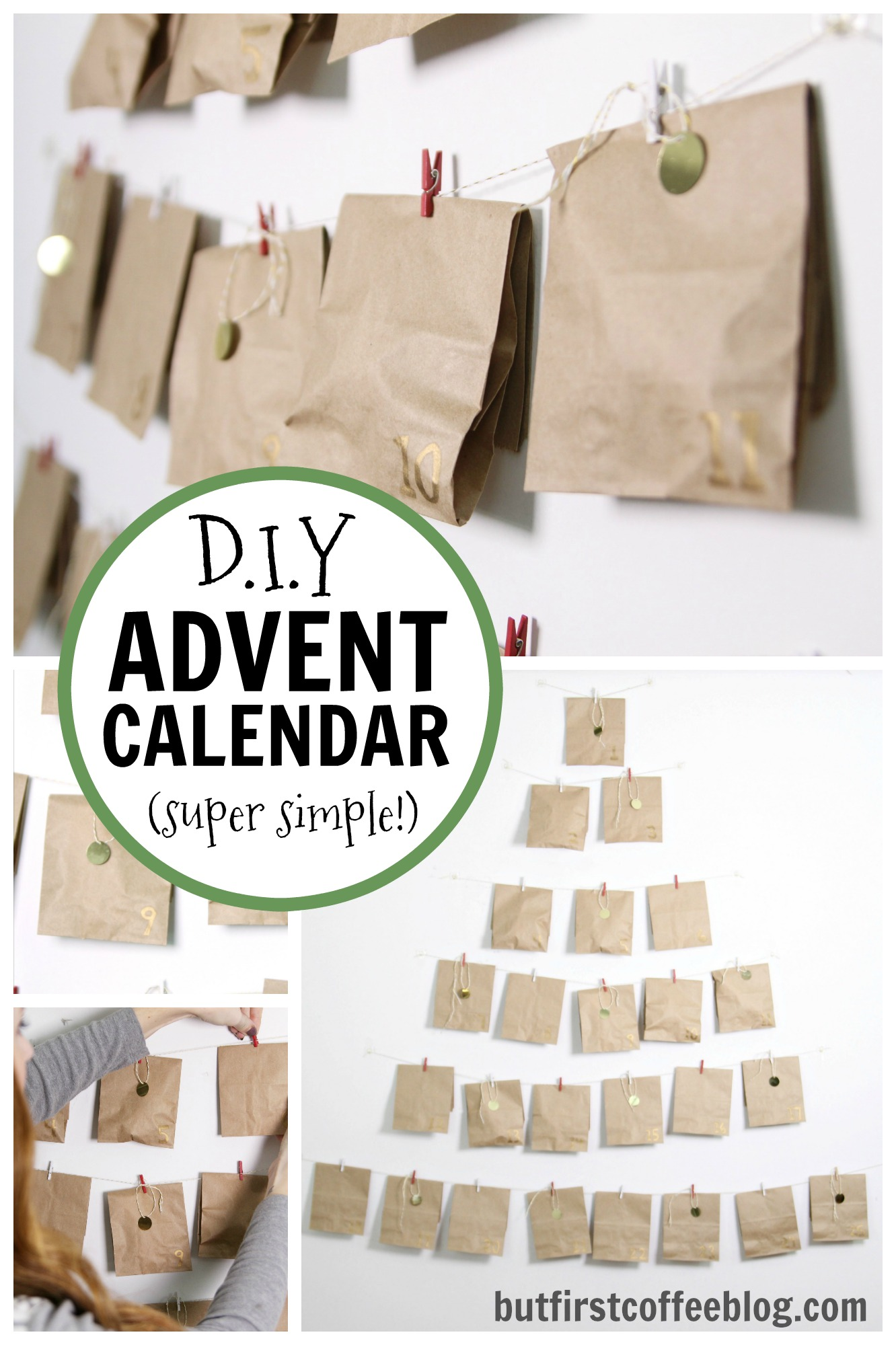 diy advent calendar advent calendar for couples. Black Bedroom Furniture Sets. Home Design Ideas