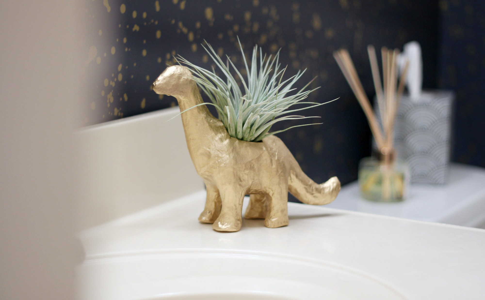 DIY Dinosaur Planter | Air Plant Holder
