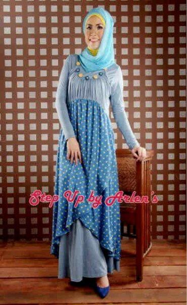 baju muslim step up terbaru ibu lucky 085643343724