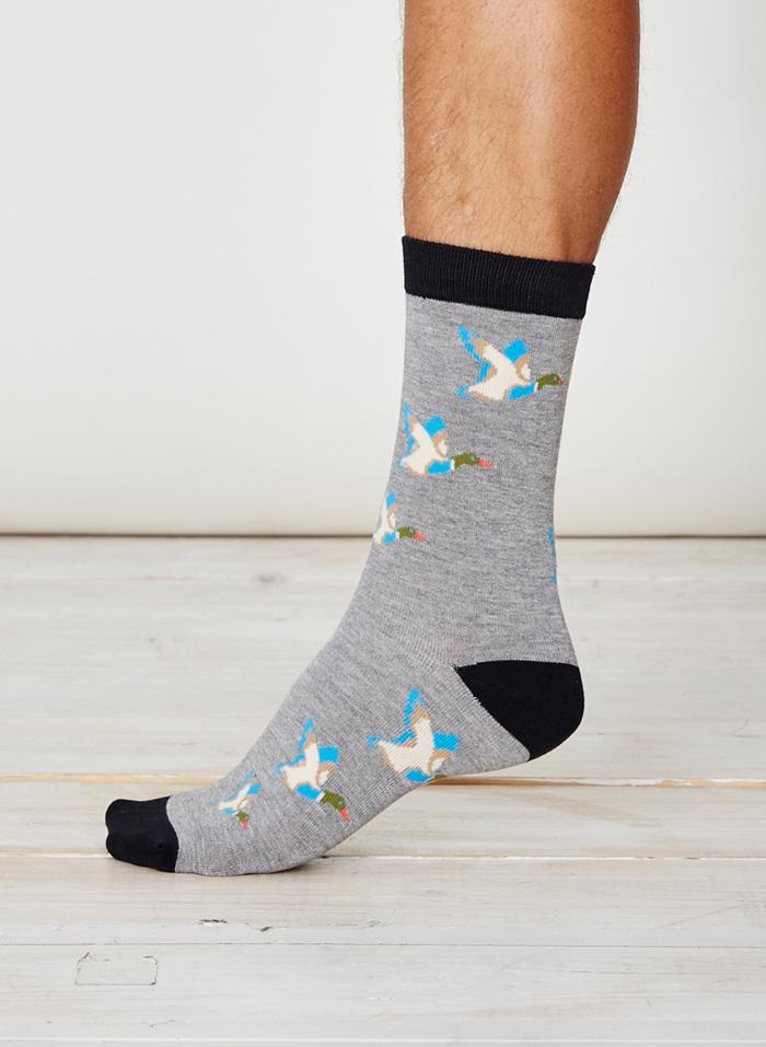 SPM226-Mallard-Bamboo-Socks-Grey-Marl1