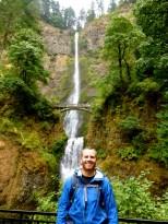 Multnomah falls. Portland is gorges?!