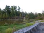 Side pond
