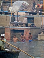 ::bathing in the Ganges::