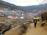 ::entering Namche::