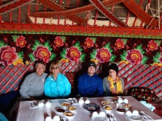 ::yurt lunch::