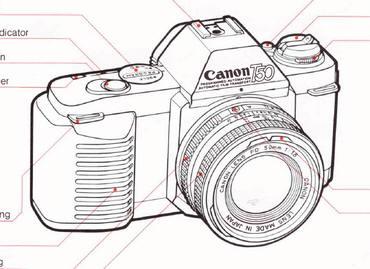 Canon t50 instruction manual, user manual, PDF manual