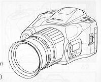 Chinon Genesis III camera manual, Genesis III camera