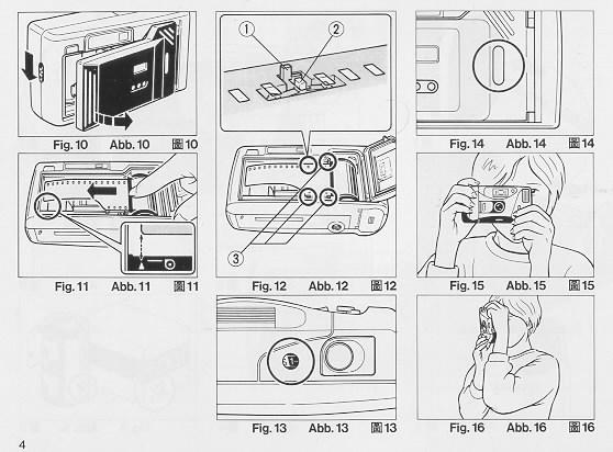 Ricoh LX-22 camera manual, instruction