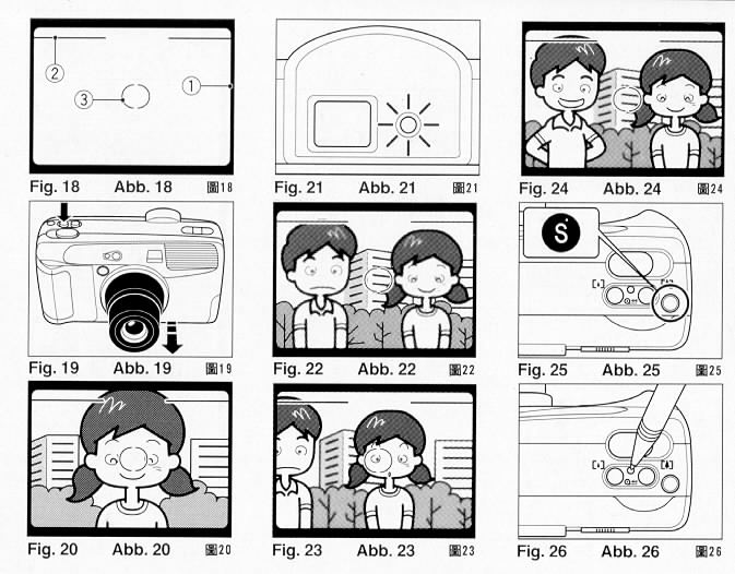 ricoh RZ-770 camera manual, instruction