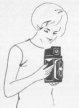 Yashica 635 instruction manual, user manual, PDF camera