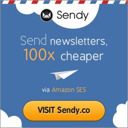 Send newsletters 100x cheaper with Sendy!