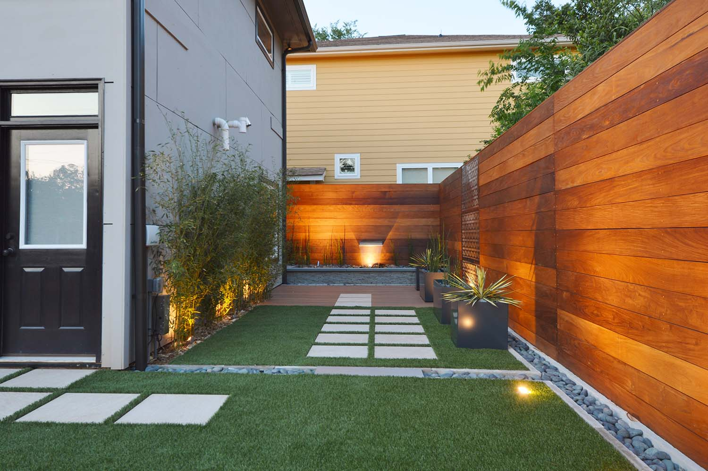 Sustainable Landscape Design Compliments Modern Architecture