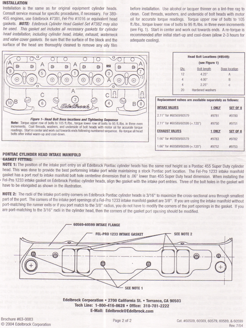 hight resolution of click here for the edelbrock aluminum head installation sheet