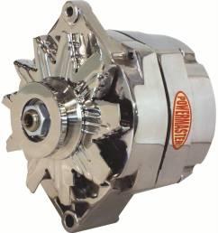 power master powermaster gm 12si 140 amp 1 wire polished alternator pow 67293  [ 921 x 1000 Pixel ]