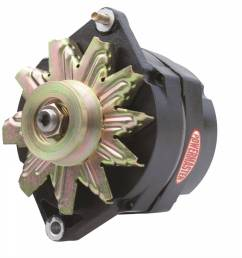 power master powermaster gm 12si 140 amp 1 wire black alternator pow 57293 [ 973 x 1000 Pixel ]