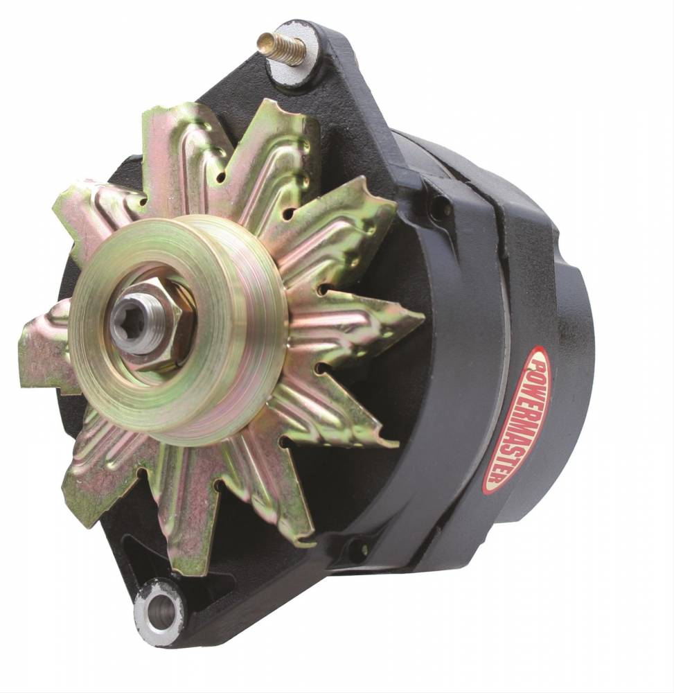 hight resolution of power master powermaster gm 12si 140 amp 1 wire black alternator pow 57293