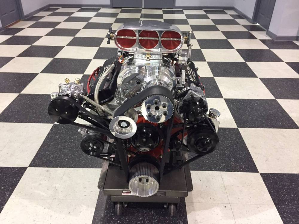 medium resolution of butler performance pontiac with a bds 8 71 blower