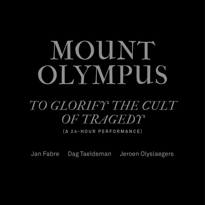 Pictured above is the album cover of 'Mount Olympus' by Dag Taeldeman, released in 2016 on Butler Records
