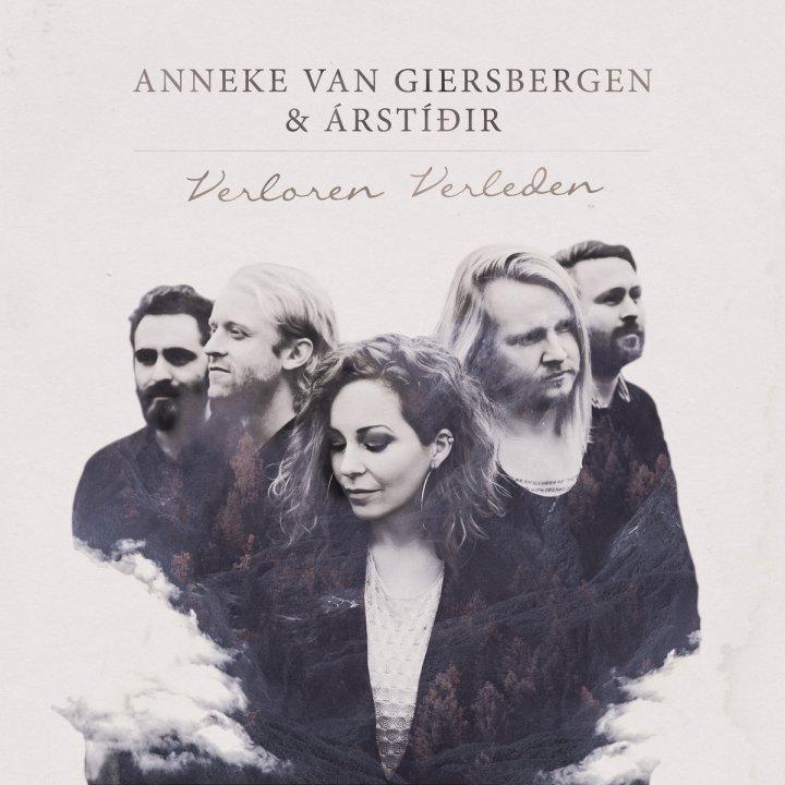 Pictured above is the album cover of 'Verloren Verleden' by Anneke van Giersbergen and Árstídir, released in 2016 on Butler Records