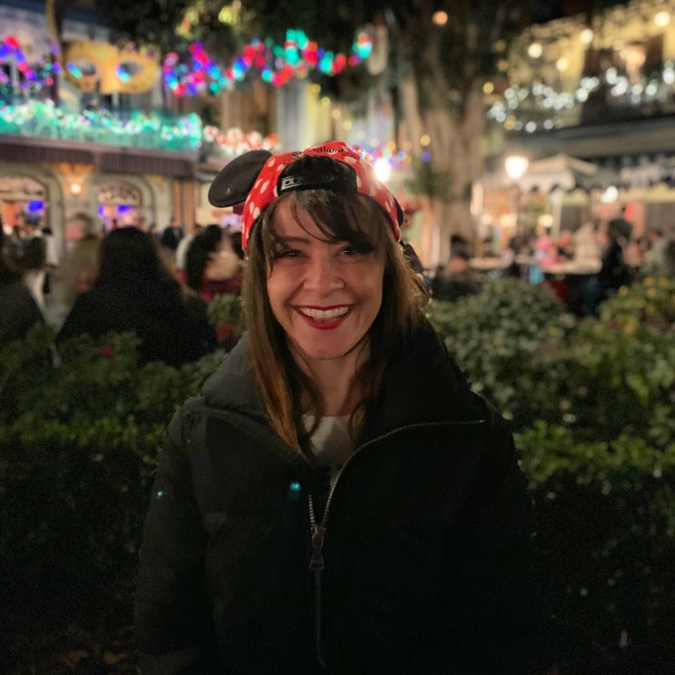 My 2019 intention of being kind to myself in action at Disneyland.