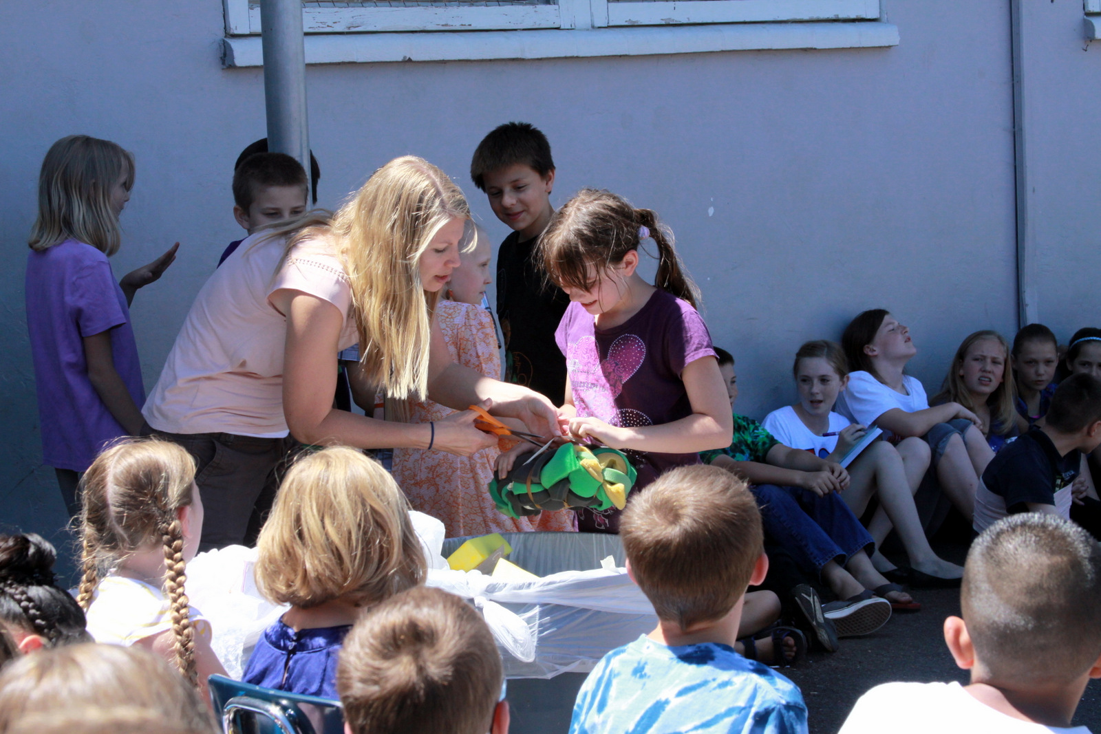 Egg Drop 3rd Grade Butte Creek Elementary School
